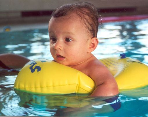 SLBY Babyreifen Swimi 1 gelb