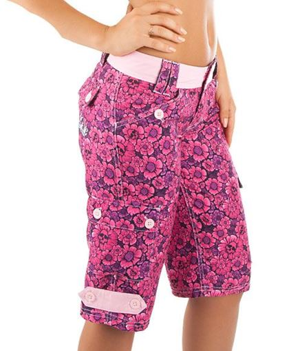 LWSW Watershort Damen ROSES2