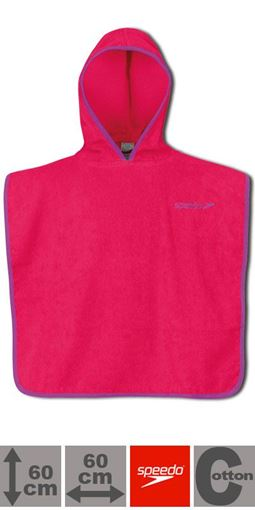 ZRHB Kids Poncho Microterry RD